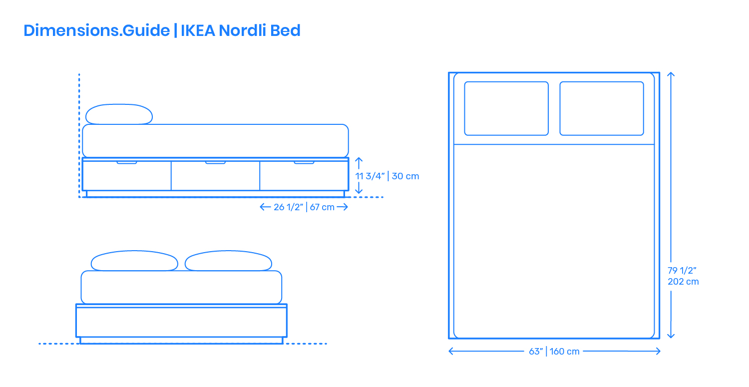Ikea Nordli Bed Frame Dimensions Drawings Dimensions Com,What Goes Well With Blueberry Muffins