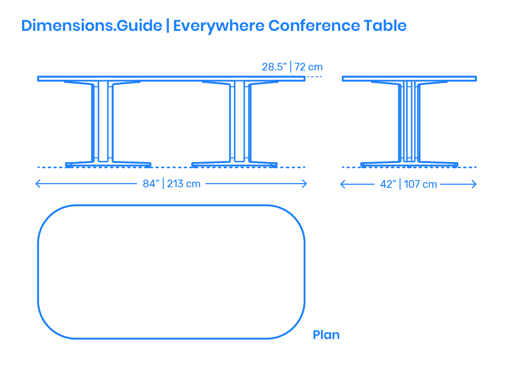 Caf 233 Tables Dimensions Amp Drawings Dimensions Guide