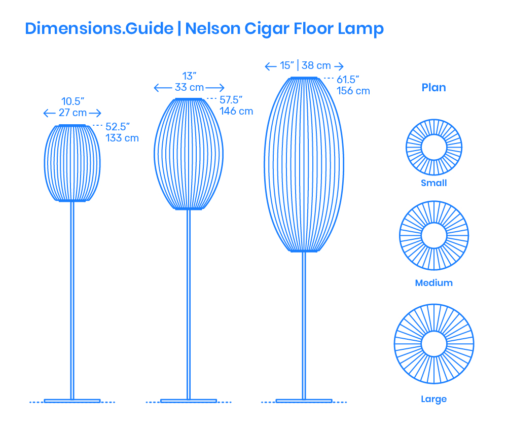 Sten Floor Lamp Dimensions Amp Drawings Dimensions Guide
