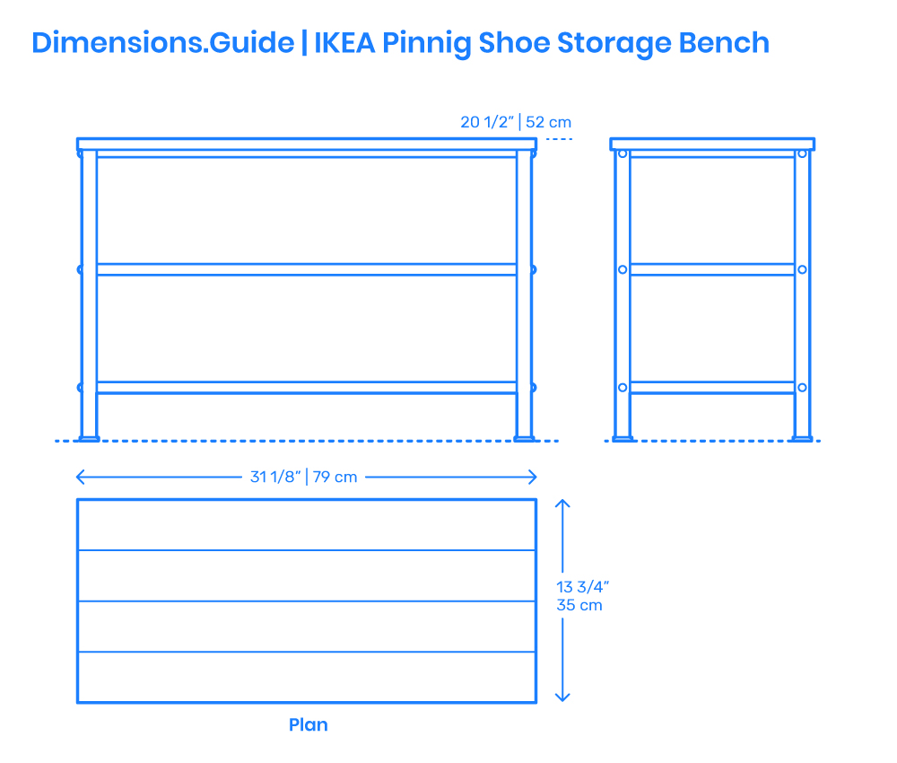 Bench Dimensions Amp Drawings Dimensions Guide
