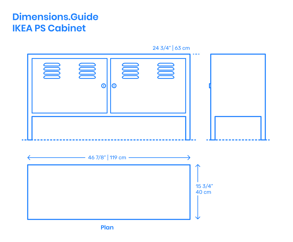 Ikea Ps Cabinet Dimensions Drawings Dimensions Guide