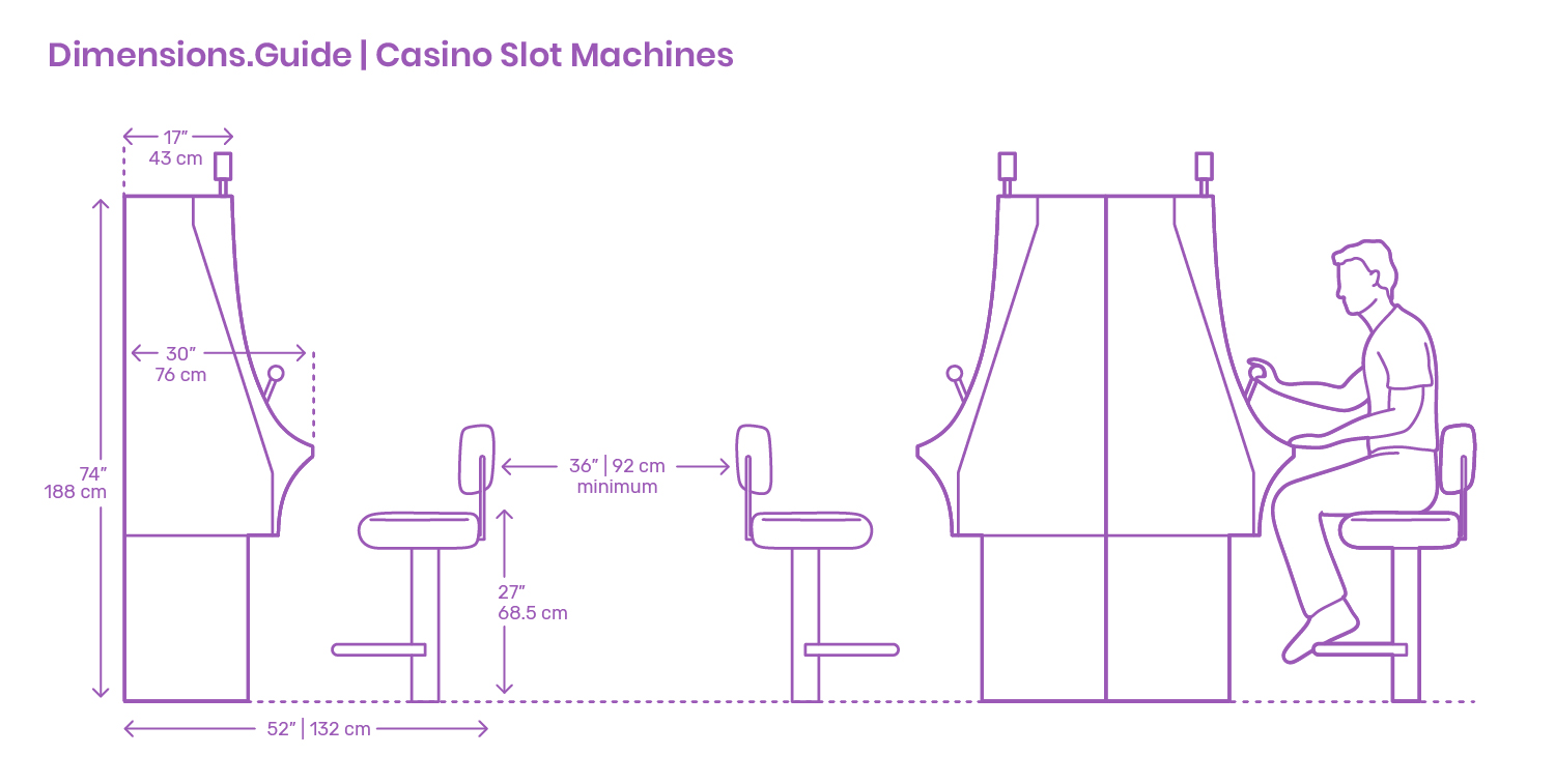 Casino Slot Machines Dimensions Drawings