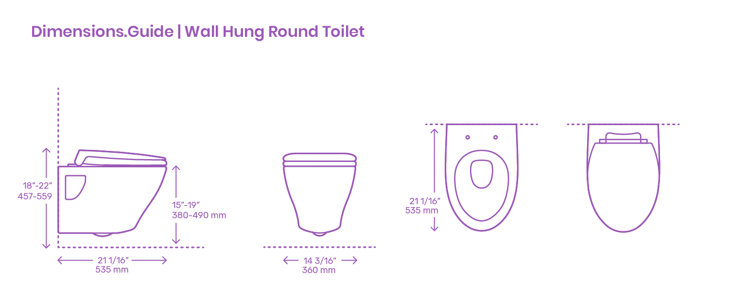 Toto Aquia Wall Hung Toilet Dimensions Drawings Dimensions Com