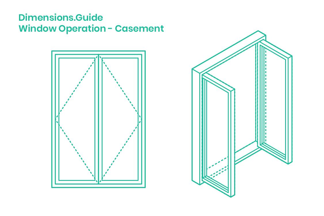 Casement Windows Dimensions Drawings Dimensions Com
