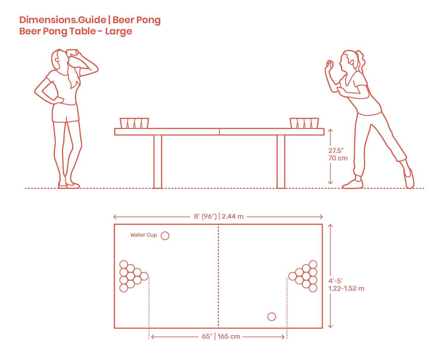 Regulation Beer Pong Table Length   Decorations I Can Make